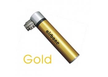 Mini pumpička AIRBONE 59g zlatá10cm