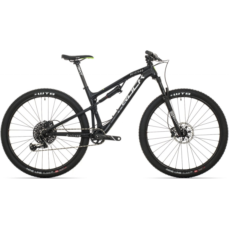 Rock Machine Blizzard XCM 90-29 25th Anniversary mat black/silver/black 2019