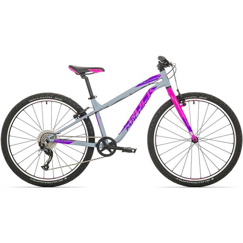 Rock Machine Thunder 26 (XS) gloss grey/pink/violet 2020