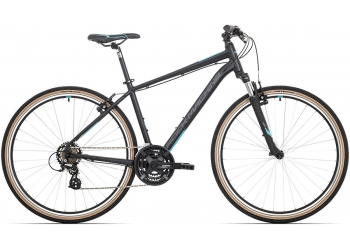 Rock Machine CrossRide 100 mat black/petrol blue/dark grey 2020