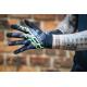 Dlouhoprsté rukavice ROCK MACHINE Race zelené