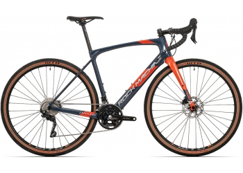 Rock Machine GravelRide CRB 700 gloss dark blue/brick orange/silver 2021