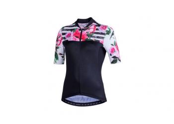 Dámský dres NaLINI AIS Moderna 2.0 black/white/pink