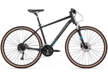 Rock Machine CrossRide 700 mat black/dark grey/petrol blue 2021