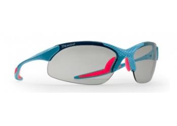 Brýle DEMON 832 carbon blue pink - fotochromatické brýle